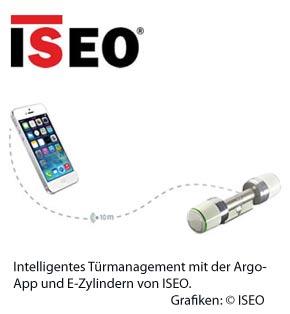 ISEO macht Smartphone zum Türmanager