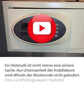 TRÜGERISCHE SICHERHEIT: HOTELSAFES IM FOKUS